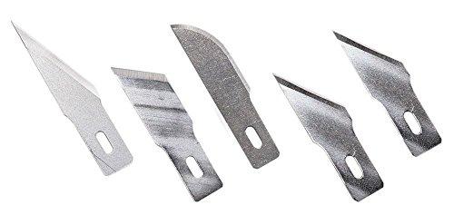 5 Excel Hobby Blade Super Sharp #2 Straight Edge Blade 20002