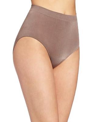 Wacoal Women's B Smooth Brief Panty, Cappuccino, X-Large by Wacoal Women's IA