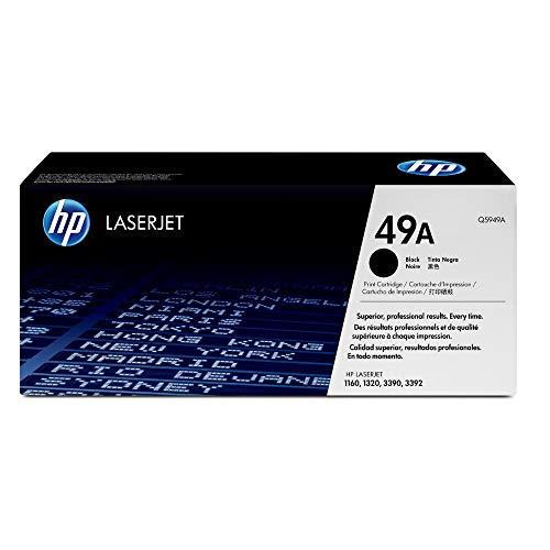 HP 49A (Q5949A) Schwarz Original Toner für HP Laserjet 1160, 1320tn, 3390, 3392