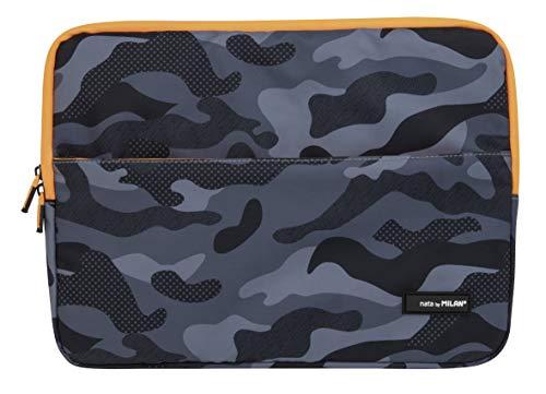 Laptoptas 13 inch (33 cm), zwart/oranje