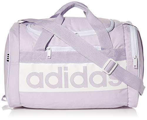 adidas Unisex Court Lite Duffel Bag, Purple Tint/White, ONE SIZE