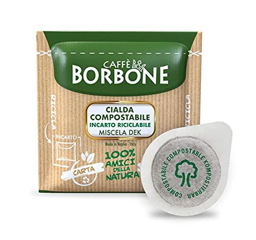 Caffè Borbone Cialda Compostabile, Miscela Decaffeinata - 150 Cialde - Sistema ESE