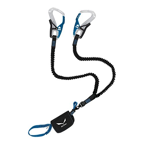 Salewa Set Via Ferrata Klettersteigset, Silver/Royal Blue, One Size