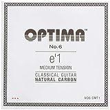 オプティマ(OPTIMA)ギター弦 No6.CMT1 ナチュラルカーボン・ミディアム①