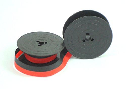 ZenTypewriters GR4 - Nastro per macchine da scrivere Olivetti, colore: rosso e nero
