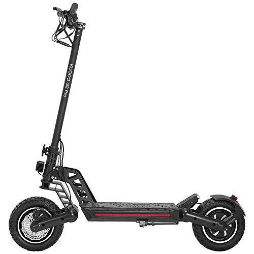 Patiente eléctrico Kugo G2 Pro - Patinete eléctrico para adulto, motor de 800 W, velocidad máxima de 50 km/h, Scooter eléctrico, autonomía de 50 km