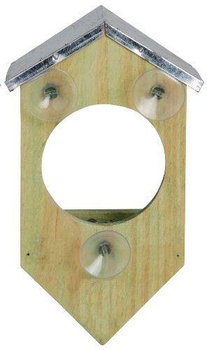 Esschert Design Fensterfutterhaus, Holz, 17 x 20 x 9 cm, FB4 - 2