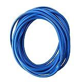 Paraspigoli Portiera 5m in Blu per Auto - Profilo U Altamente Flessibile - Tagliabile - Autoadesiva Veicoli