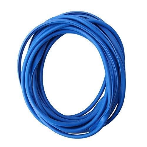 Protection de Bords de Porte 5m Coloris Bleu pour Voiture - Profils en U Très Souple - Découpable - Auto-Adhésif Voiture Automobile