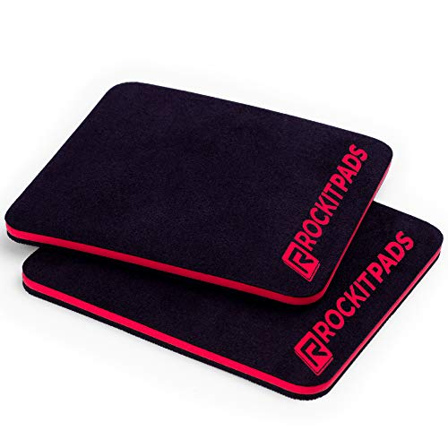 ROCKITZ Grip Pads | mehr Komfort und Grip als Fitness Trainingshandschuhe, beim Krafttraining, Bodybuilding, Kraftsport & Crossfit Training | für Damen & Herren
