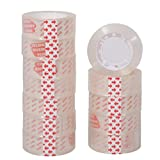 Pack de 12 Cintas Adhesiva Transparente Celo Tansparente Extrafuerte 19mm x 25m