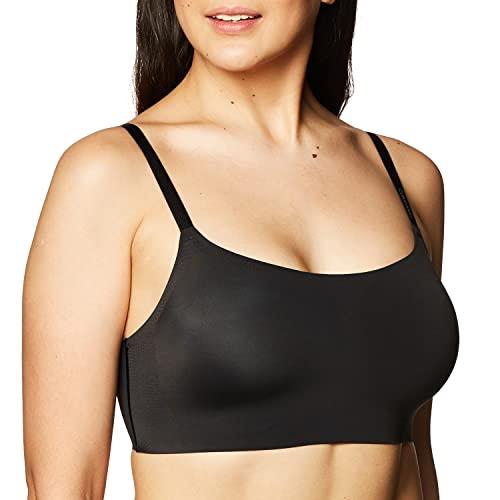 Calvin Klein - Bralette sin costuras y tirantes ajustables para mujer