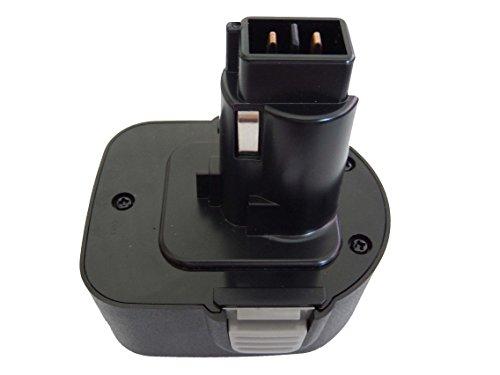 vhbw NiMH Akku 2000mAh kompatibel mit Black & Decker KC1261CN, KC1261F, KC1262C, KC1262F, KC1282, KC1282C Ersatz für PS130, A9252, DC9071, u.a.