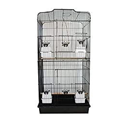 ANJJ Birdcage, peony starling parrot cage parrot cage heightening Hyeonpung Parrot