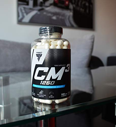 BEST WEIGHT GAIN TABLETS -- CM3 1250 x 180 capsules -- Best Tri Creatine Malate