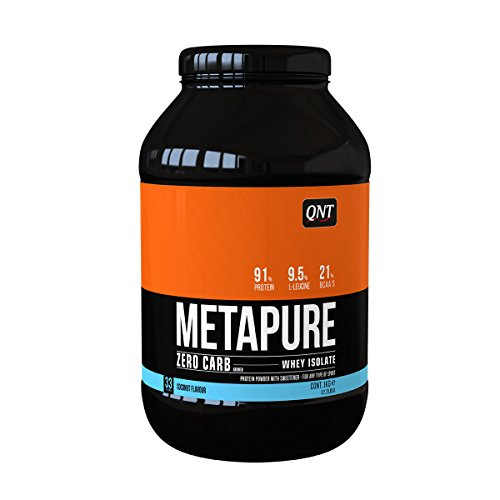 QNT Metapure Zero Carb Whey Isolate Supplement, Coconut