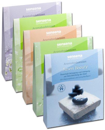 Naturkosmetik aromabadkudde fördel spack tid för vila, 5 x 60 g