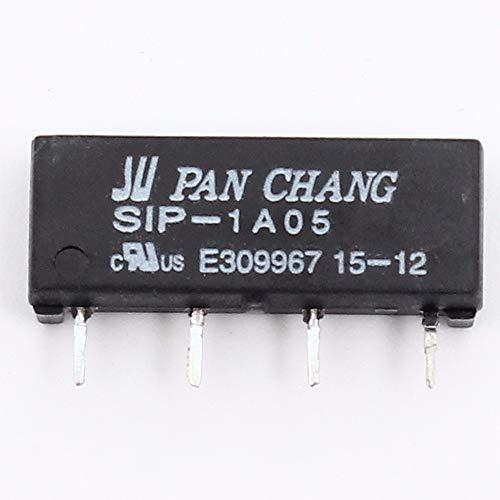 10 Stück 5V Relais SIP-1A05 4 PIN Reed Switch Relais