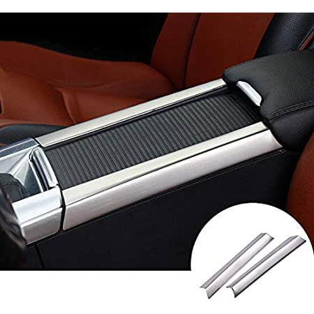 Chrom Mittelkonsolen Verkleidung Aus Edelstahl Zur Dekoration Der Mittelarmlehne Autozubehör Für Xc60 V60 S60 2 Stück Auto