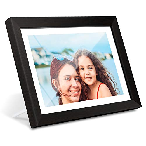 AEEZO WiFi Digital Picture Frame 10.1 Inch IPS Touch Screen HD Display, 16GB Storage, Auto-Rotate, Share Photos & Videos via...
