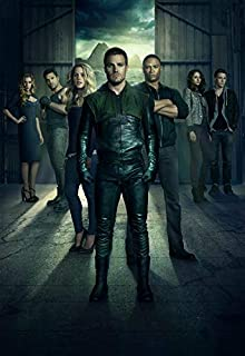 Arrow Season 3 14inch x 20inch Silk Poster Wallpaper Wall Decor Silk Prints for Home and Store