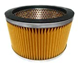 Euroclean Eureka Forbes Metal Wet and Dry Vacuum Cleaner Canister Filter (Yellow)