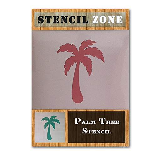 Exotische Palme Pflanze Mylar Airbrush Malerei Wand-Kunst-Handwerk-Schablone ein-XL