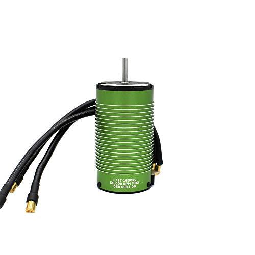 Castle Creations 4 Pole Sensored Brushless Motor, 1717-1650KV, CSE060008100