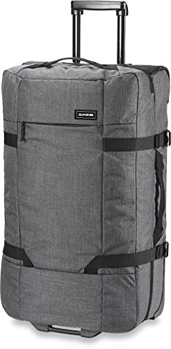 Dakine Split Roller EQ Travel Luggage, Trolley and Sports Bag with Wheels and Telescopic Handle, Carbon, 100 L