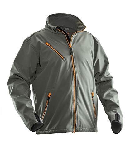 Jobman 120171-9800-6 Softshell Jacke Größe L in dunkelgrau
