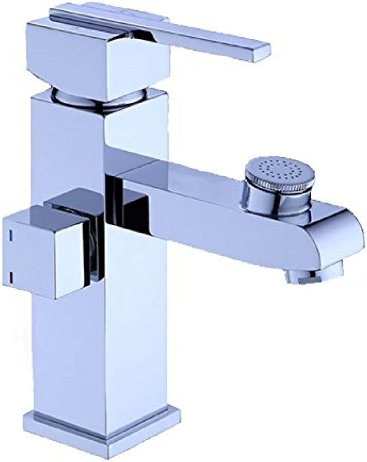 Multi-Function Faucet Hot And Cold Water Faucet Copper Bathroom Vanity Faucet Washing Faucet Bathroom Counter Basin