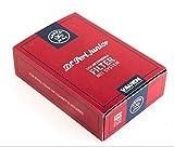 Dr. Perl Filter Junior Aktivkohlefilter groß-9 mm-Jubox 100er-Vauen, Kohlenstoff, Rot, 10 x 8 x 5 cm