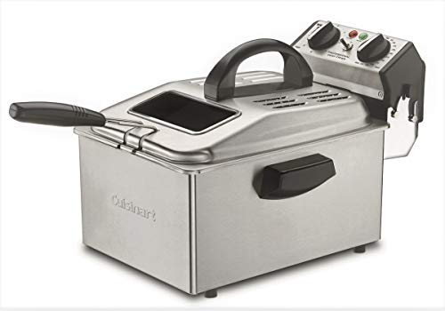 Cuisinart DF-250A 2400-Watt Deep Fryer, Gray