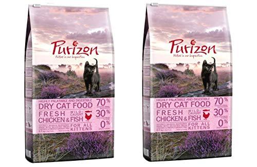 Purizon GroßhandelPL Kitten Huhn & Fisch Katzen Trockenfutter 2 x 6,5kg