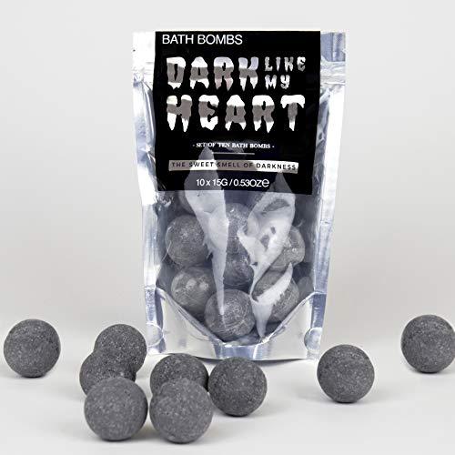 Gift Republic Like My Heart Black Bath Bombs GR450126