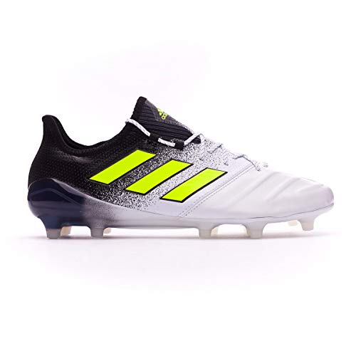 adidas ACE 17.1 FG Leather ftwwht/SYELLO/cblack Gr. 41 1/3