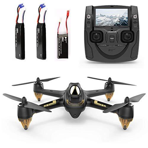 Hubsan H501S X4 Brushless Drohne GPS 1080P HD Kamera Mit H901A Sender Schwarz Standard (2 Batterie für Drohne)