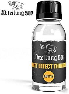 ABTEILUNG 502 Matt Effect Thinner 100ml Bottle