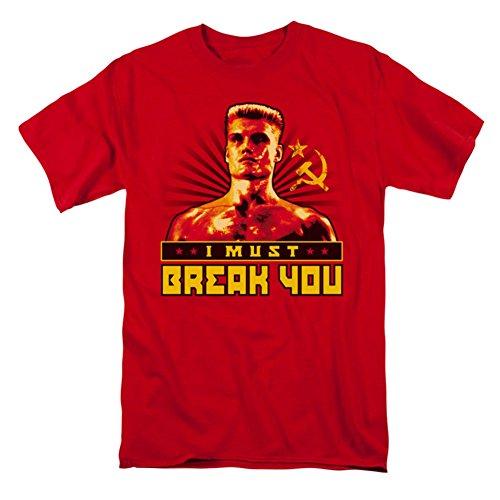 Rocky IV Ivan Drago I Must Break You - Camiseta