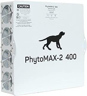 LED Grow Lights | Black Dog LED PhytoMAX-2 400 | High Yield Full Spectrum Indoor Grow Light with Bonus Quick Start Guide