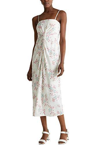 ESPRIT Collection Damen 030EO1E343 Kleid für besondere Anlässe, Off White (110), XS