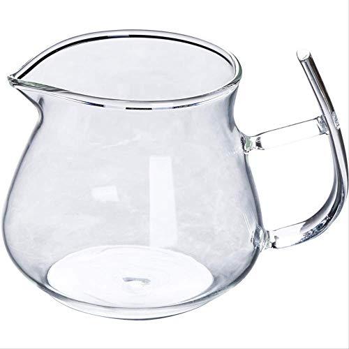 Decoratieve Ornamenten Creatieve Glas Fair Cup Verdikt Hoge Temperatuur Resistant Thee Thee Dispenser