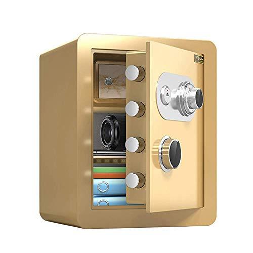 Cajas fuertes Incombustible para el hogar Mecánica, Con llave, Gabinete de seguridad de acero de gran capacidad de 45 cm para trabajo pesado, Caja de seguridad para empresas / hoteles, Fácil de usar