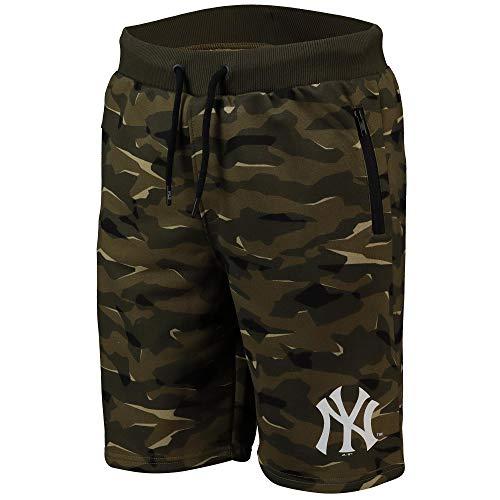 Fanatics MLB Baseball New York NY Yankees Logo Hose Camo Camouflage (XXL)