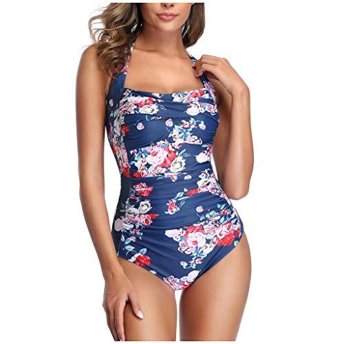 JUNGE One Piece Swimsuit for Women, Sexy Push Up Padded Print American Flag Bikini Set 2021 Bathing Suits Swimming Suit Women's Modest Swimwear Swim Covers Up Monokini Swimdress Beachwear Outfits