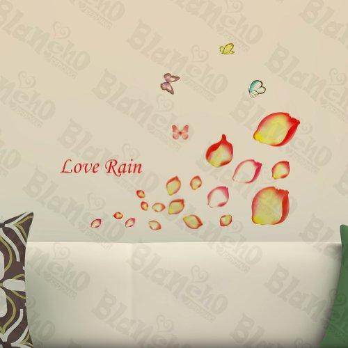 Pluie de pétales – Patchs Rouge Stickers muraux Stickers Décoration intérieure