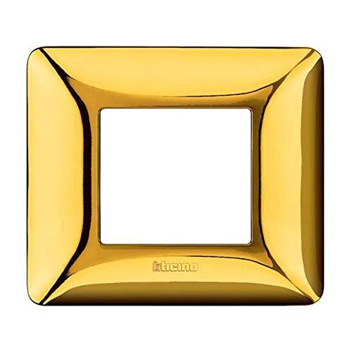 BTICINO matix - placca 2p oro lucido