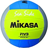 MIKASA Beachvolleyball-1679 Beachvolleyball, gelb, 5