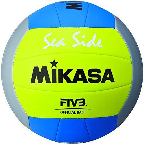 MIKASA, Palla da Beach Volley 1679, Colore: Giallo, Taglia: 5