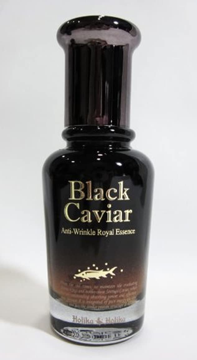 ライブ遠征おそらく【在庫処分◆大特価】Holika Holika ホリカホリカ ブラックキャビア アンチリンクル ロイヤルエッセンス Black Caviar Anti-Wrinkle Royal Essence